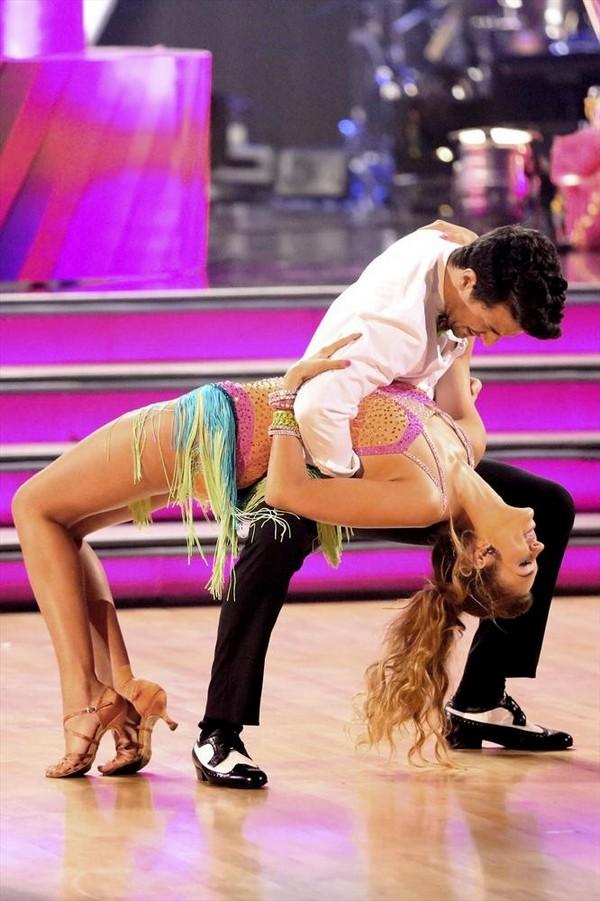 Sadie Robertson & Mark Ballas Jazz Dancing With the Stars Video Season 19 Week 2 9/22/14 #DWTS