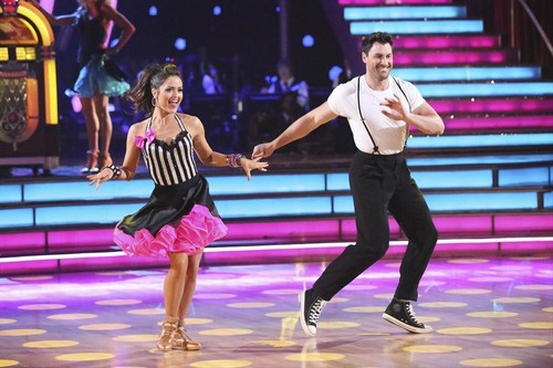 Danica McKellar Dancing With the Stars Quickstep Video 4/14/14 #DWTS