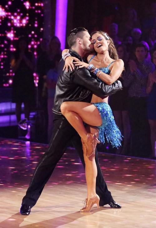 Danica McKellar Dancing With the Stars Salsa Video 4/28/14 #DWTS