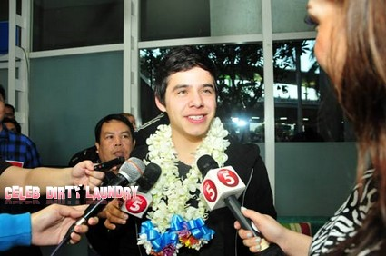 CDL Exclusive: David Archuleta Arrives In Manilla For His Upcoming TV Series (Photos)
