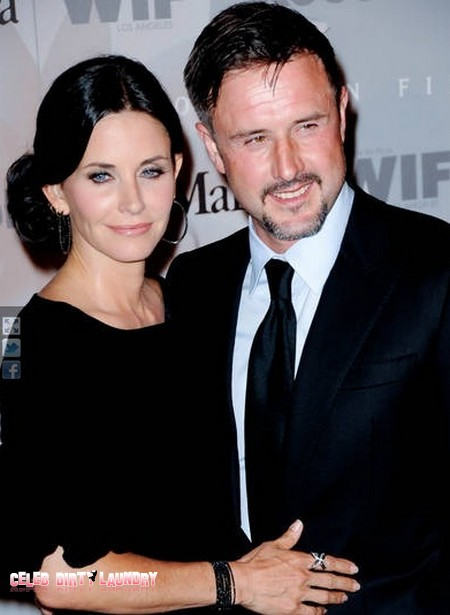 Courteney Cox Courting Sober David Arquette