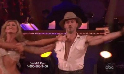 David Arquette and Professional Dancer Kym Johnson Dancing With The Stars Paso Doble (Video)