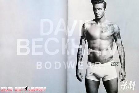 David Beckham Shirtless In His Underwear.  Enough Said.