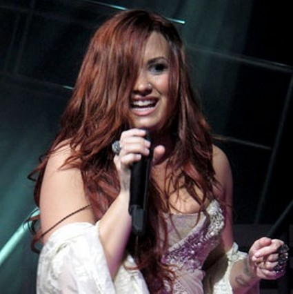 Demi Lovato's Hometown Nip Slip (Photo)