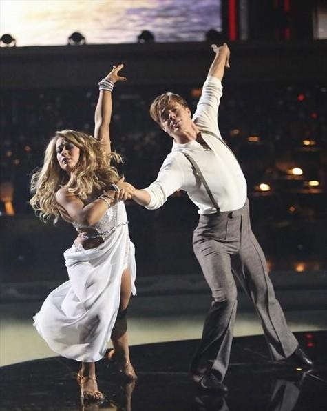 Shawn Johnson  Dancing With the Stars All-Stars Cha-Cha-Cha Performance Video 10/29/12