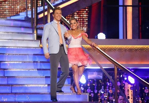 Shawn Johnson Dancing With the Stars All-Stars Quickstep Performance Video 10/8/12