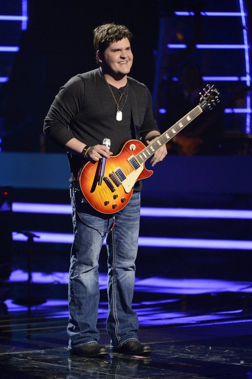 "Dexter Roberts American Idol ""Lucky Man"" Video 3/5/14 #IdolTop12"