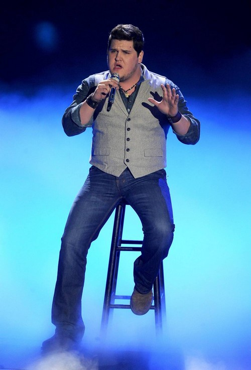 """Dexter Roberts American Idol """"Muckalee Creek Water"""" Video 4/16/14 #IdolTop7"""