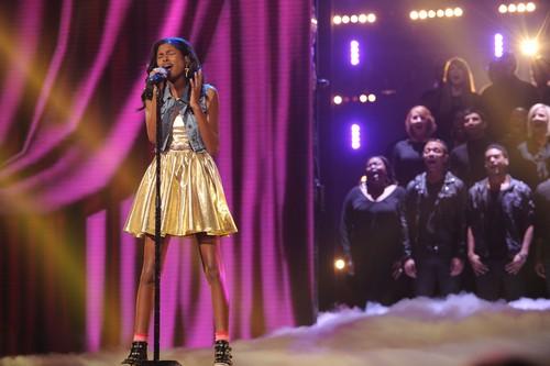 "Diamond White The X Factor ""Top 8"" Video 11/28/12"