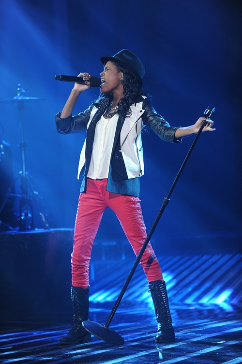 Diamond White Eliminated From The X Factor 12/6/12 (Video)
