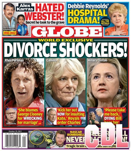 GLOBE: Kate Middleton and The Royals Order Prince Charles To Divorce Camilla Parker-Bowles