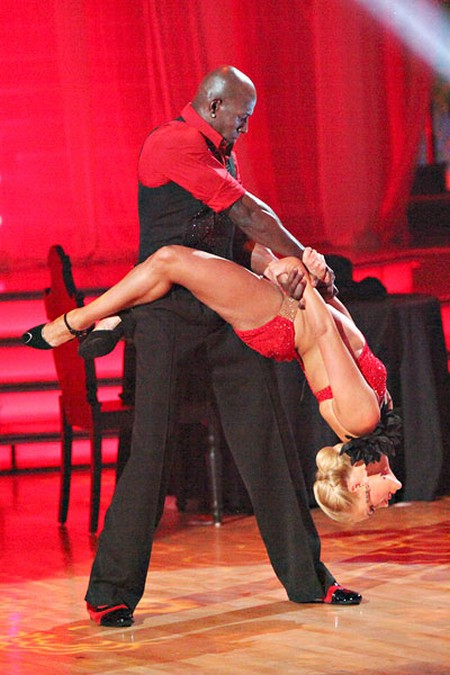 Donald Driver Dancing With The Stars Freestyle Performance Video 5/21/12