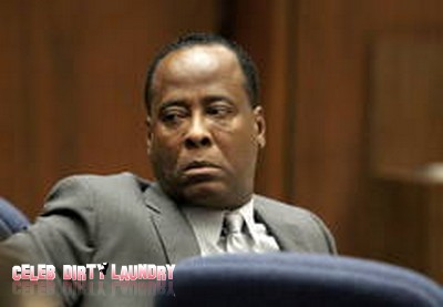 Representing Himself Dr. Conrad Murray Files Appeal