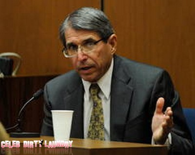 Defense Witness Dr. Paul White Disrupts Court Proceedings - Held In Contempt Of Court