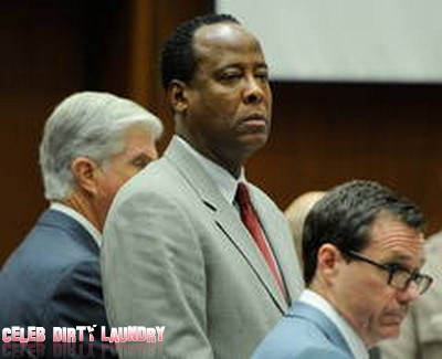 Dr. Conrad Murray On Suicide Watch In Jail!