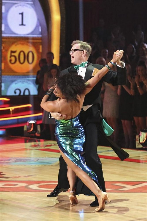 Drew Carey Dancing With the Stars Jive Video 3/24/14 #DWTS