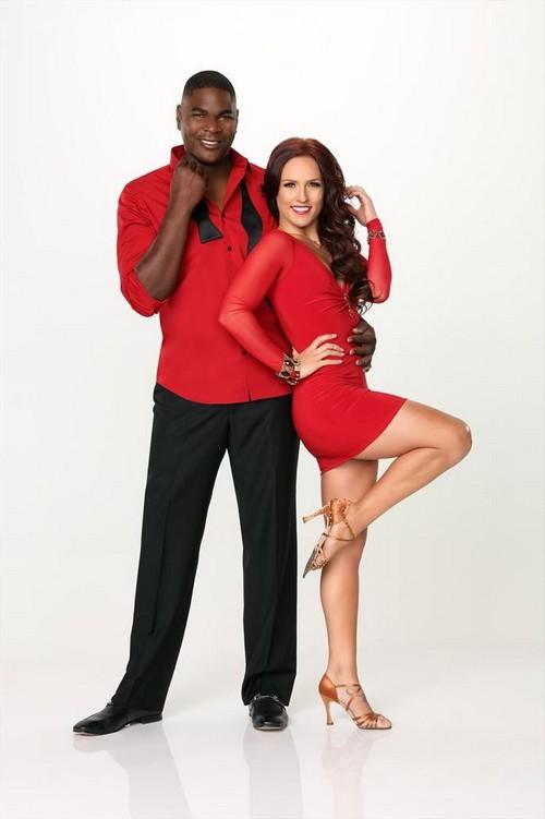 Keyshawn Johnson Dancing With the Stars Cha Cha Cha Video 9/16/13