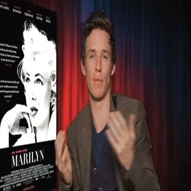 Rose Hollywood Report - Eddie Redmayne - My Week with Marilyn