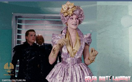 New 'Hunger Games' Stills Featuring Elizabeth Banks As Effie Trinket (Photos)