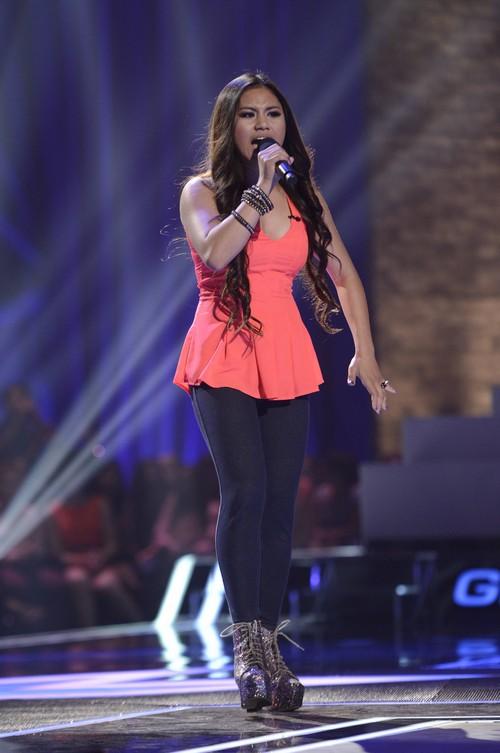 """Ellona Santiago The X Factor """"Baby Love"""" Video 11/6/13 #TheXFactorUSA"""