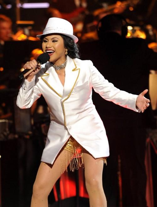 """Ellona Santiago The X Factor """"Applause"""" Video 12/4/13 #TheXFactorUSA"""