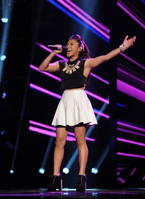 "Ellona Santiago The X Factor ""I Wanna Dance With Somebody"" Video 11/13/13 #TheXFactorUSA"