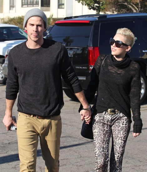 Miley Cyrus And Liam Hemsworth Wedding On Hold - Couple Worried About Quickie Divorce 0410