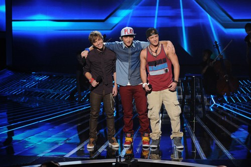 "Emblem3 The X Factor ""Top 8"" Video 11/28/12"