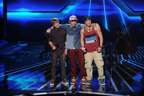 """Emblem3 The X Factor """"Top 8"""" Video 11/28/12"""