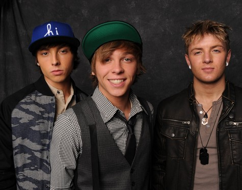 "Emblem3 The X Factor ""Baby I Love Your Way"" Video 12/12/12"