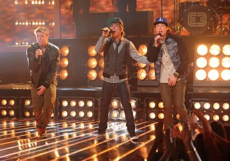 "Emblem3 The X Factor ""Hey Jude"" Video 12/12/12"
