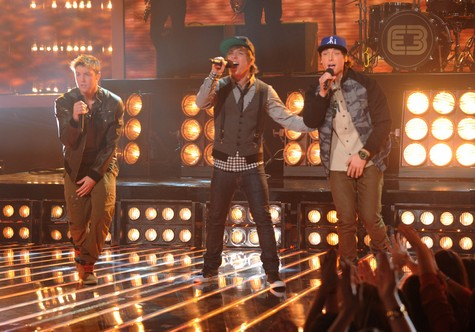 "Emblem3 The X Factor ""Hey Jude"" Video 12/12/12"