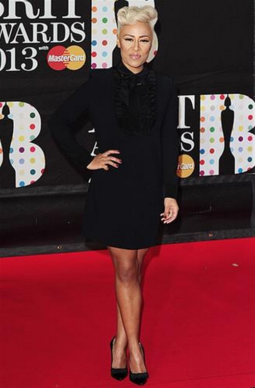 Emili-Sande-BRIT-Awards-2013-red-carpet-arrival