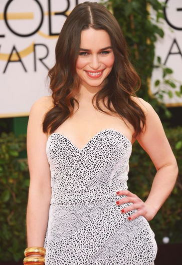 Game of Thrones' Emilia Clarke Stunned at the 2014 Golden Globe Awards: Here's how You can get her Hot Look! (PHOTOS)