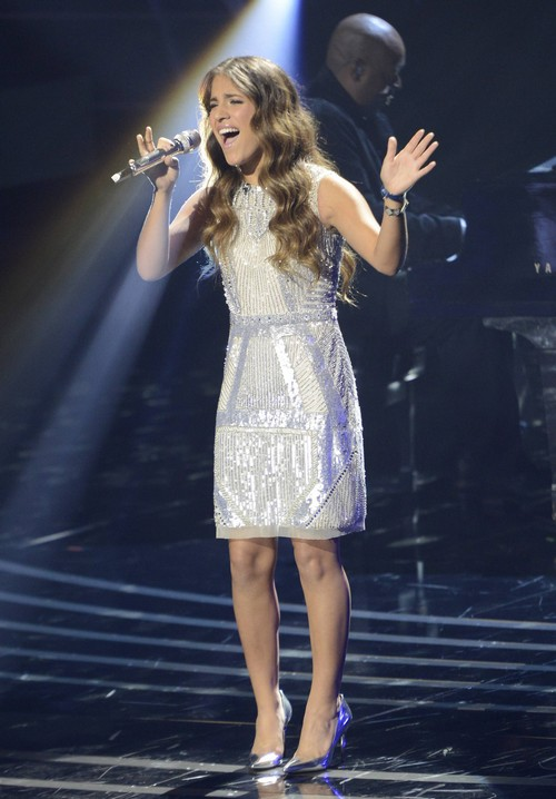 "Emily Piriz American Idol ""Let's Get Loud"" Video 3/5/14 #IdolTop12"