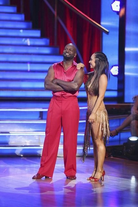 Emmitt Smith Dancing With the Stars All-Stars Foxtrot Performance Video 10/29/12