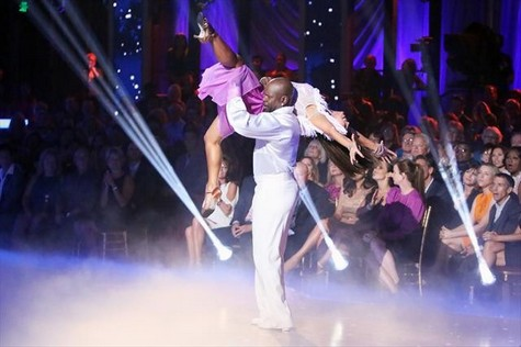 Emmitt Smith Dancing With the Stars All-Stars Samba Performance Video 10/22/12