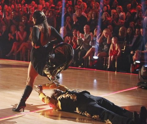 Emmitt Smith Dancing With the Stars All-Stars Bolero Performance Video 10/15/12