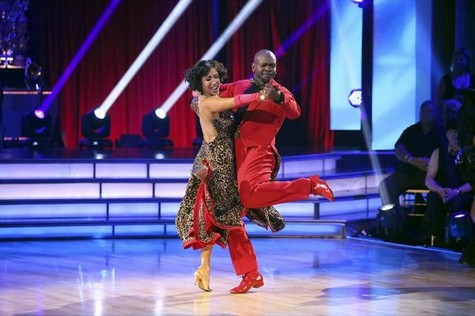 Emmitt Smith Dancing With the Stars All-Stars Paso Doble Performance Video 10/8/12