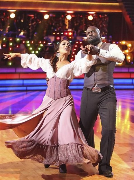 Emmitt Smith Dancing With the Stars All-Stars Rumba/Samba Fusion Performance Video 11/5/12