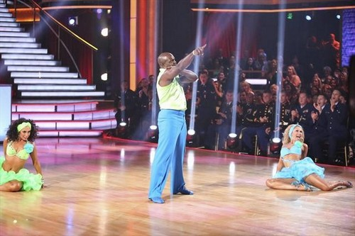 Emmitt Smith Dancing With the Stars All-Stars Espionage Lindy Hop Performance Video 11/19/12
