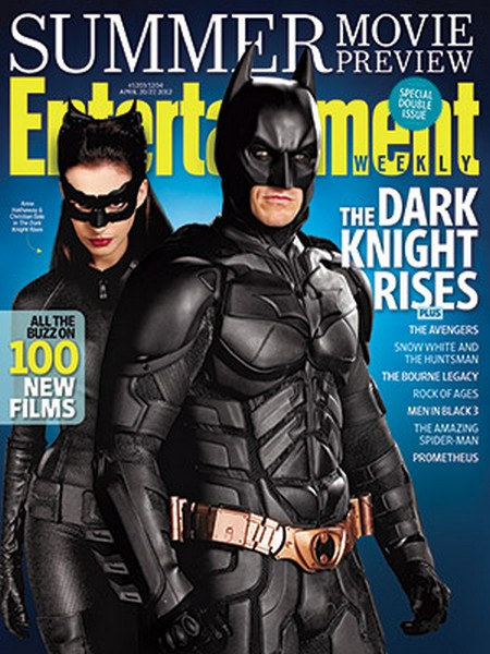 Christian Bale And Anne Hathaway Cover Entertainment Weekly