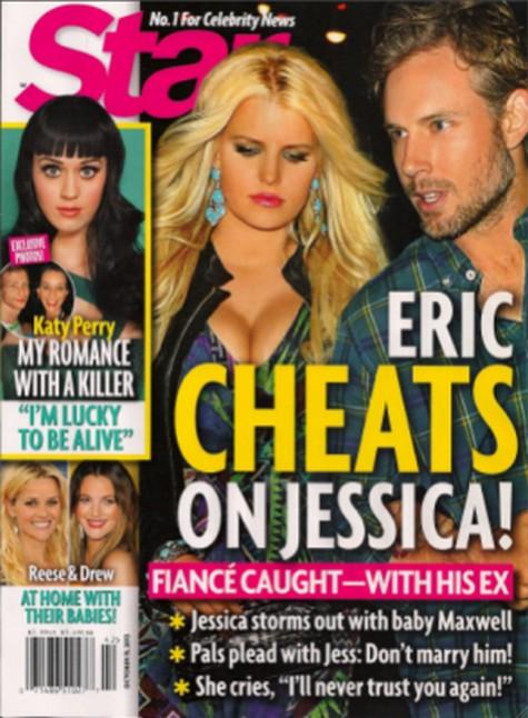 Jessica Simpson's Fiance Eric Johnson Caught Cheating On Her