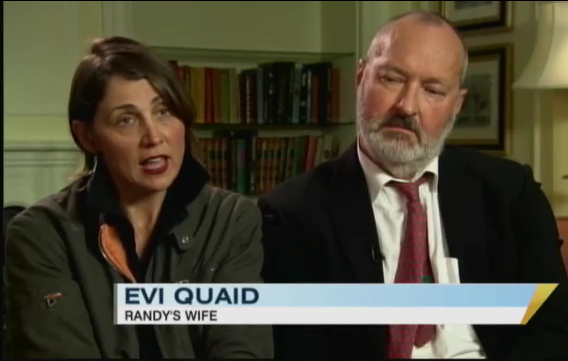 Randy & Evi Quaid Talked About Being Whacked In Interview [Video]