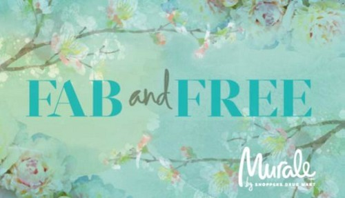 Shoppers Drug Mart Murale Fab & Free 2013 - Promotional Event