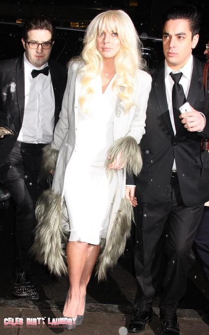 Trashy Lindsay Lohan Set To Destroy The Role Of Elizabeth Taylor