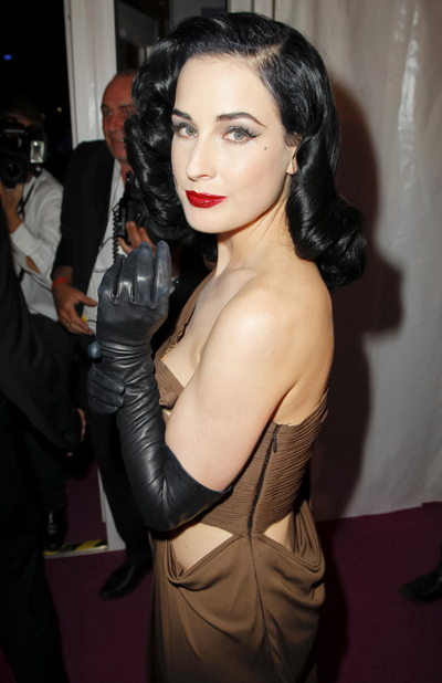 "Dita Von Teese Wants To Direct A ""Really Dirty"" Porn Film"