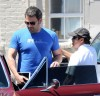 Ben Affleck Meets A Friend For Lunch