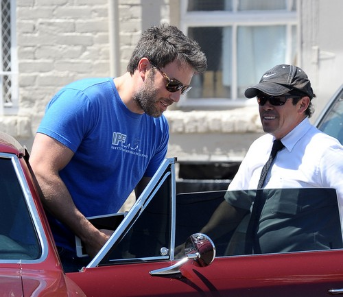 Ben Affleck Meets A Friend For Lunch