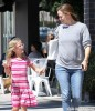 Jennifer Garner Runs Errands With Violet